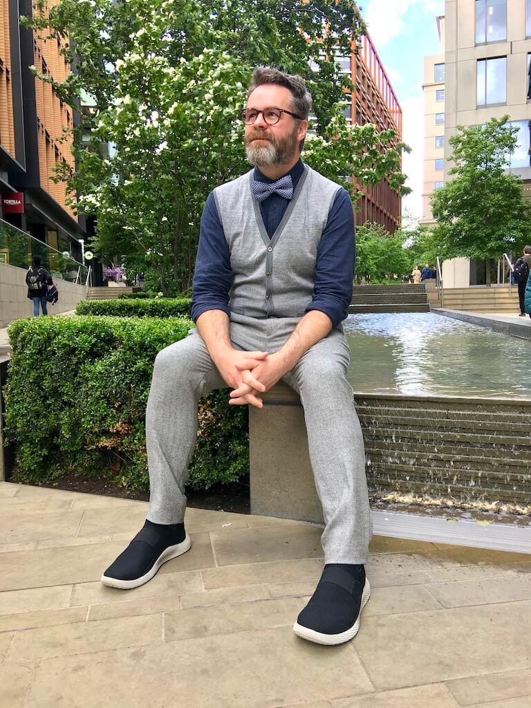 Shaun Weston, copywriter and podcast producer.