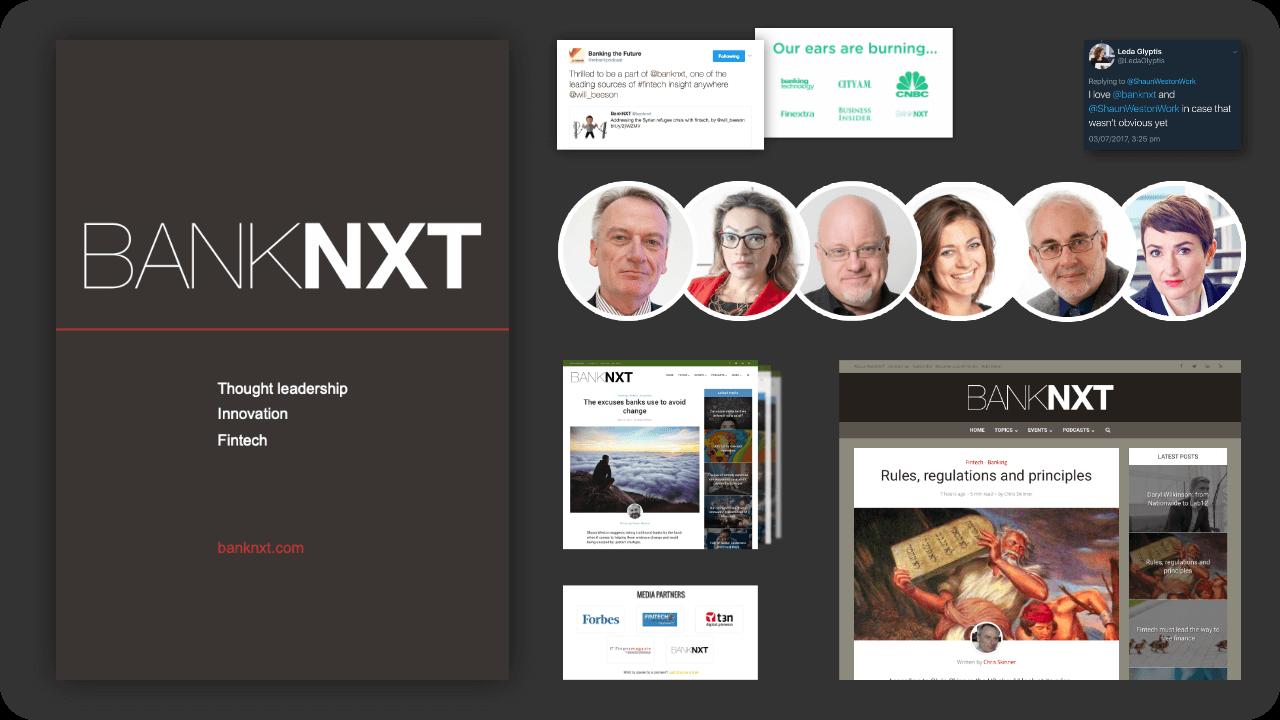 Various BankNXT images.