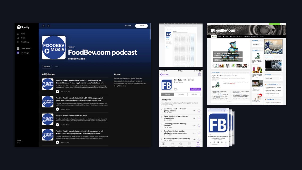 FoodBev podcast images.