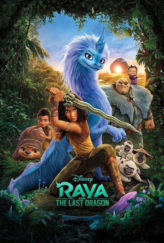 Raya and the Last Dragon film poster.