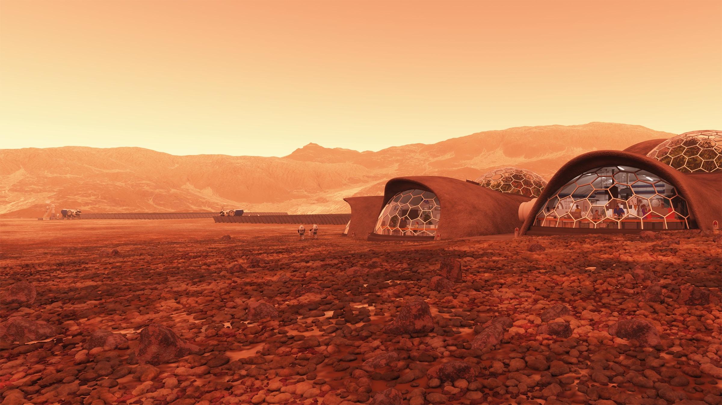 Astreia Mars habitat