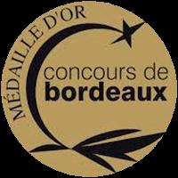 GOLD at the Concours de Bordeaux - Wines of Aquitaine