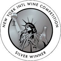 SILVER at the competition of New York International Wine Competition