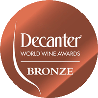 BRONZE at the DECANTER World Wine Awards Competition