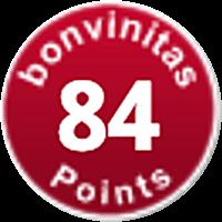 84 points bonvinitas International Wine tasting & Magazine
