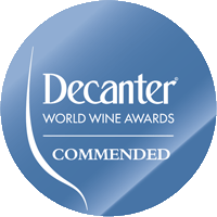 COMMENDED at the DECANTER World Wine Awards Competition