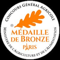 BRONZE Medal at the Concours Général Agricole de Paris