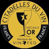 Gold Medal at the Citadelles du Vin Competition