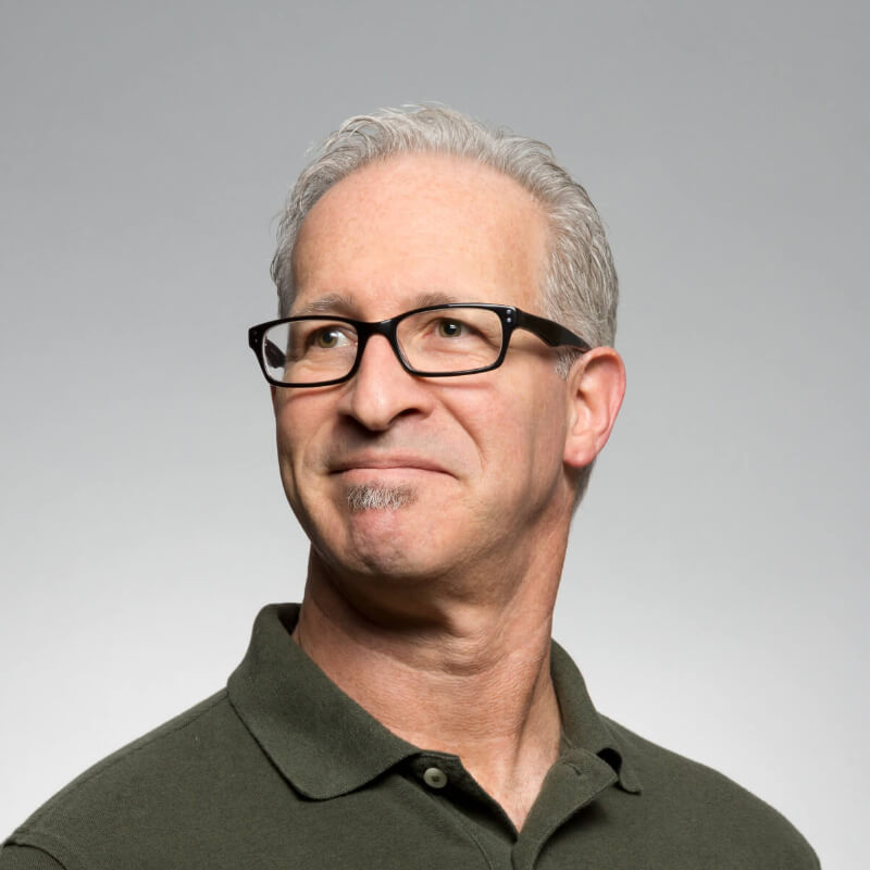 Image of man with glasses.