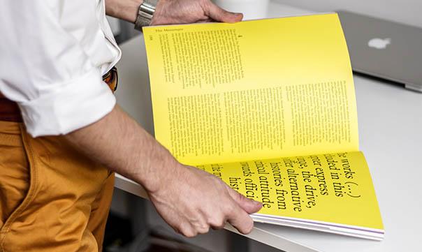 Memo Studio agence créative Print avec un imprimeur partenaire. Responsable Ecologique.