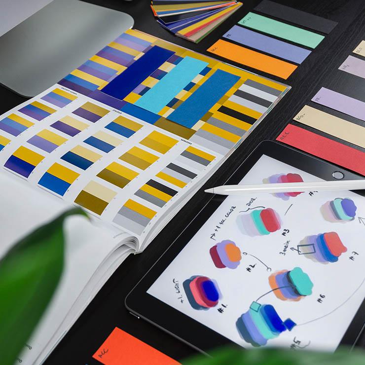 Studio de création Paris.
