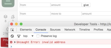 Mist browser with error on index.html