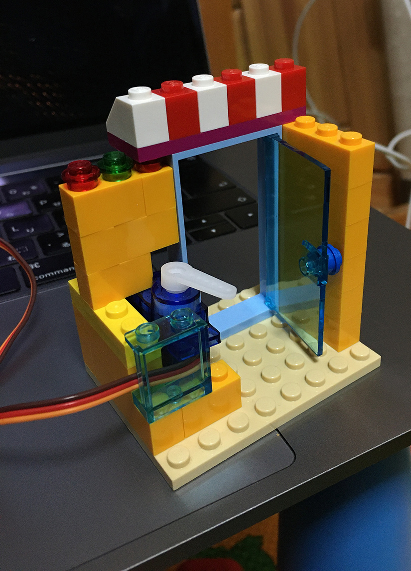 Lego door