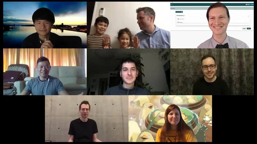 Curvegrid Virtuali-Tea remote team catch-up