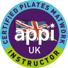 APPI certified pilates instructor badge