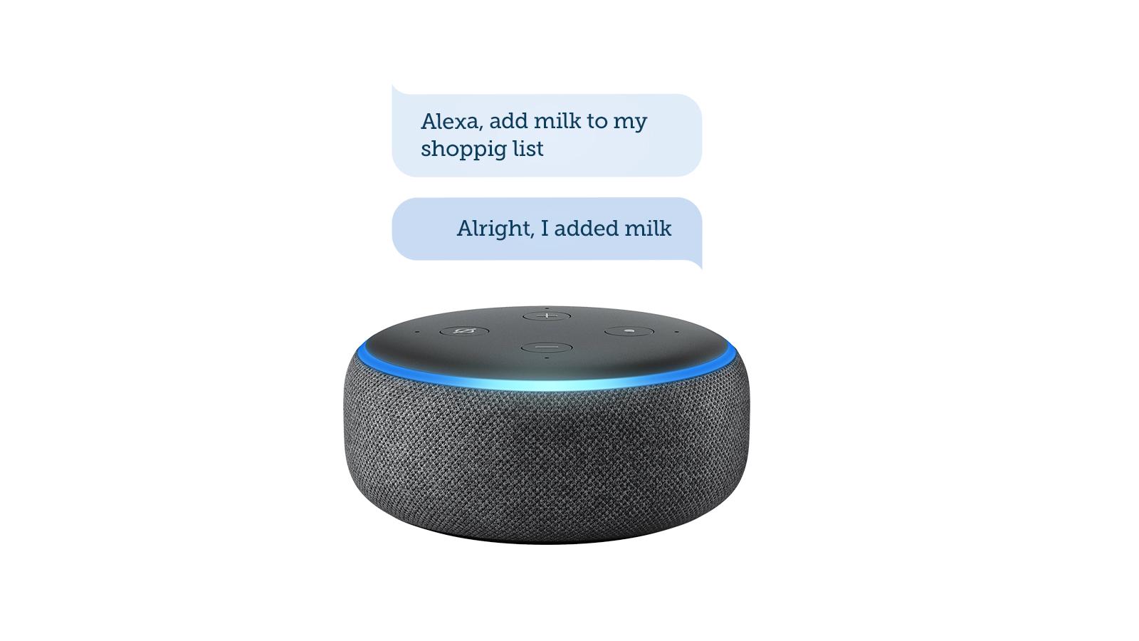 NEW: Alexa and Bring!