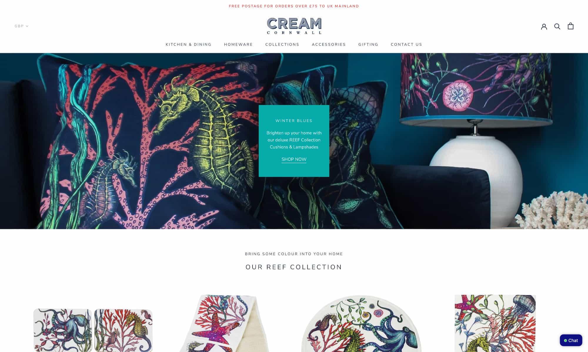 Cream Cornwall