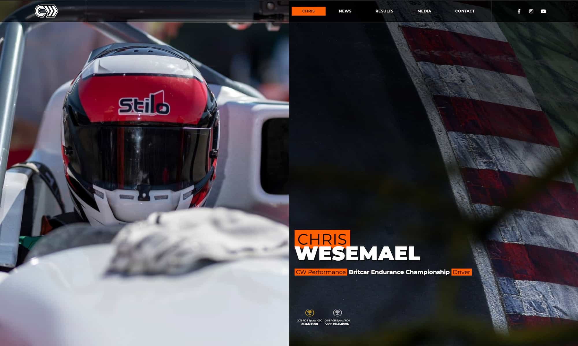 Chris Wesemael and CW Performance Racing Team