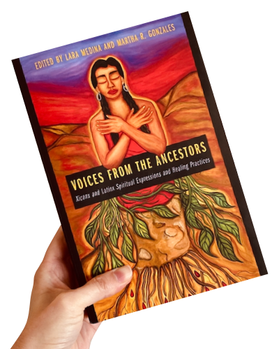 Image showing the book cover of Voices from the Ancestors