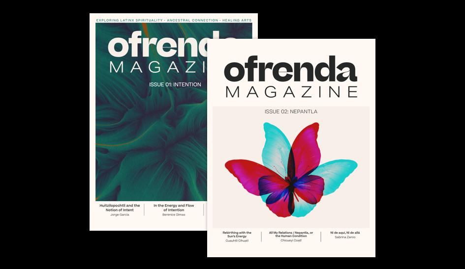 Image of magazine covers