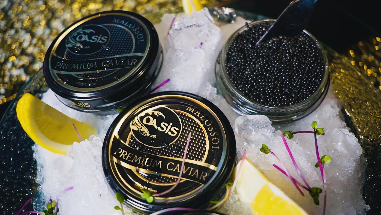 jars with caviar