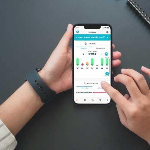 JustOneLife Mockup Mental Health App