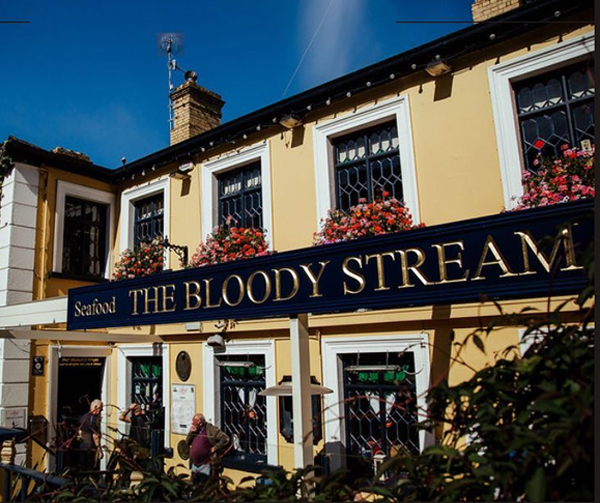 The Bloody Stream in Howth