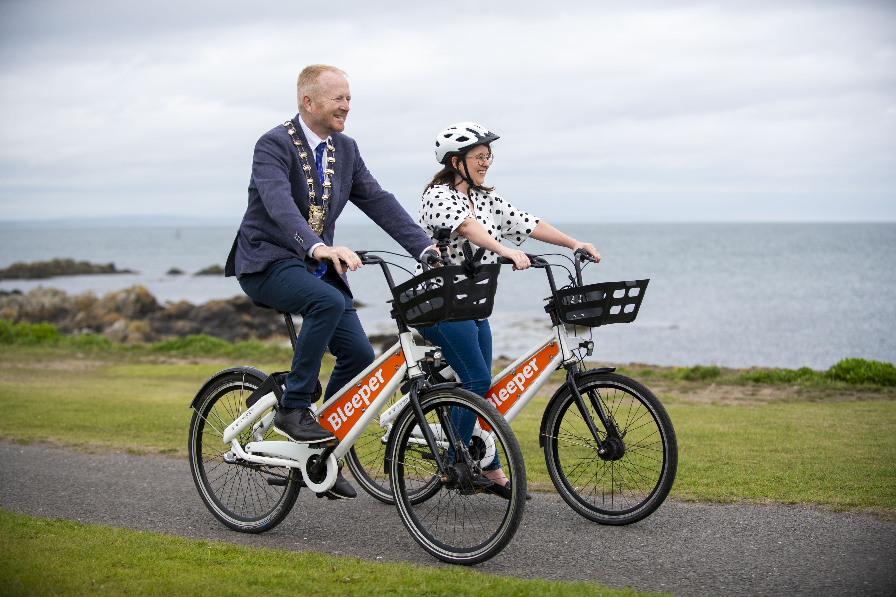 Launch of Bleeper into North Fingal