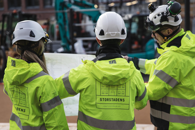 BAS P, BAS U, BF9K, Bgggföretagen, Stockholm byggmästarförering