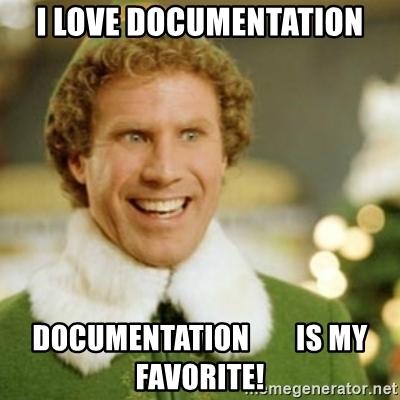 meme about documentation