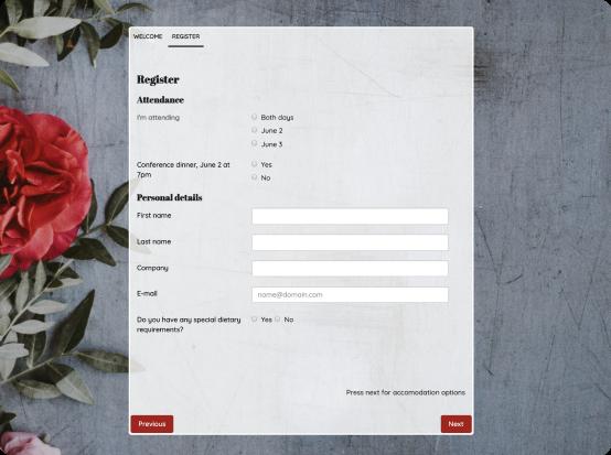 Designat formulär