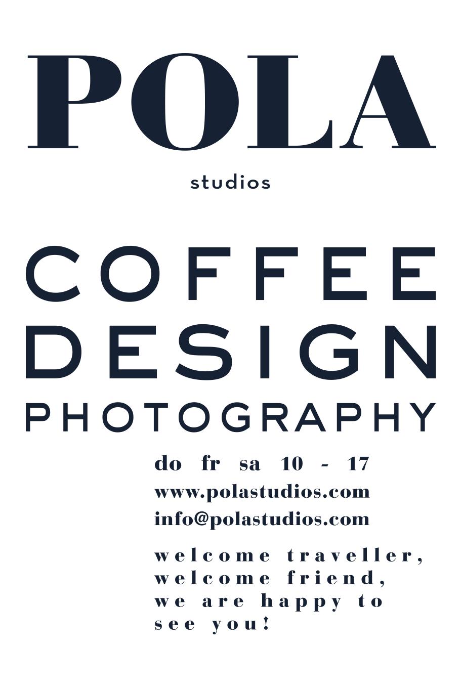 Webdesign und Typdesign für Polastudios in Rosenheim