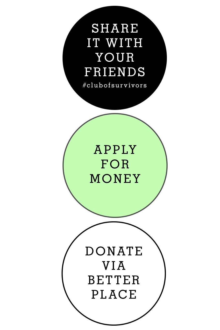 WebdesignWebdesign aus München und Rosenheim- für das Spendenprojekt Club of Survivors