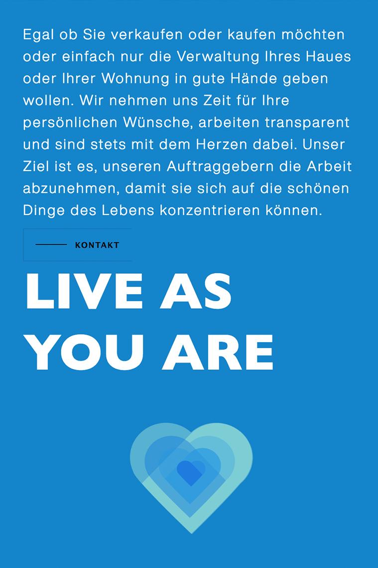 Webdesign aus Rosenheim |  Website-Texte für das Immobilienbüro Auerhaus