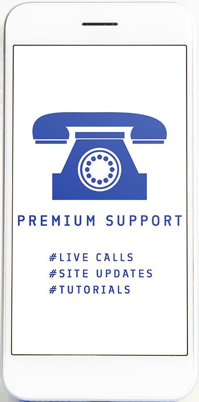 Premium Support für deine Blue Site - Go Digital mit dem Studio Blaue Seiten, deiner Webdesignagentur aus Rosenheim München und Berlin
