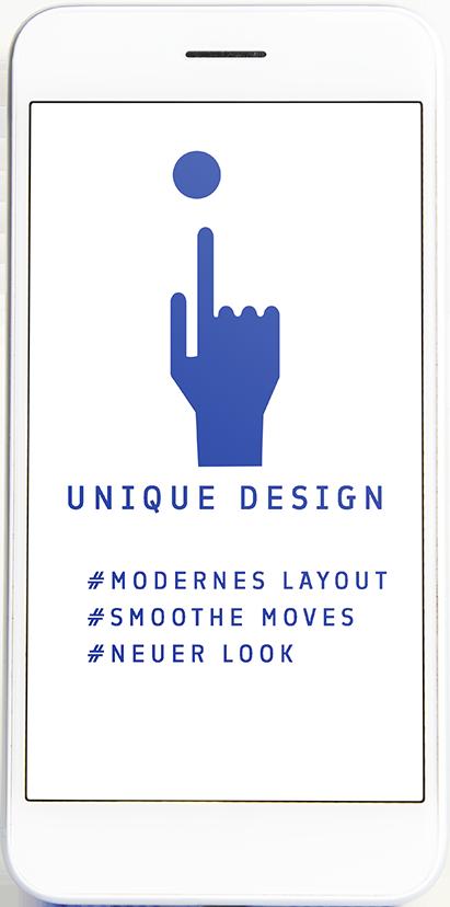 Unique Webdesign aus Rosenheim beim Studio Blaue Seiten -moderner Look und smoothe Moves