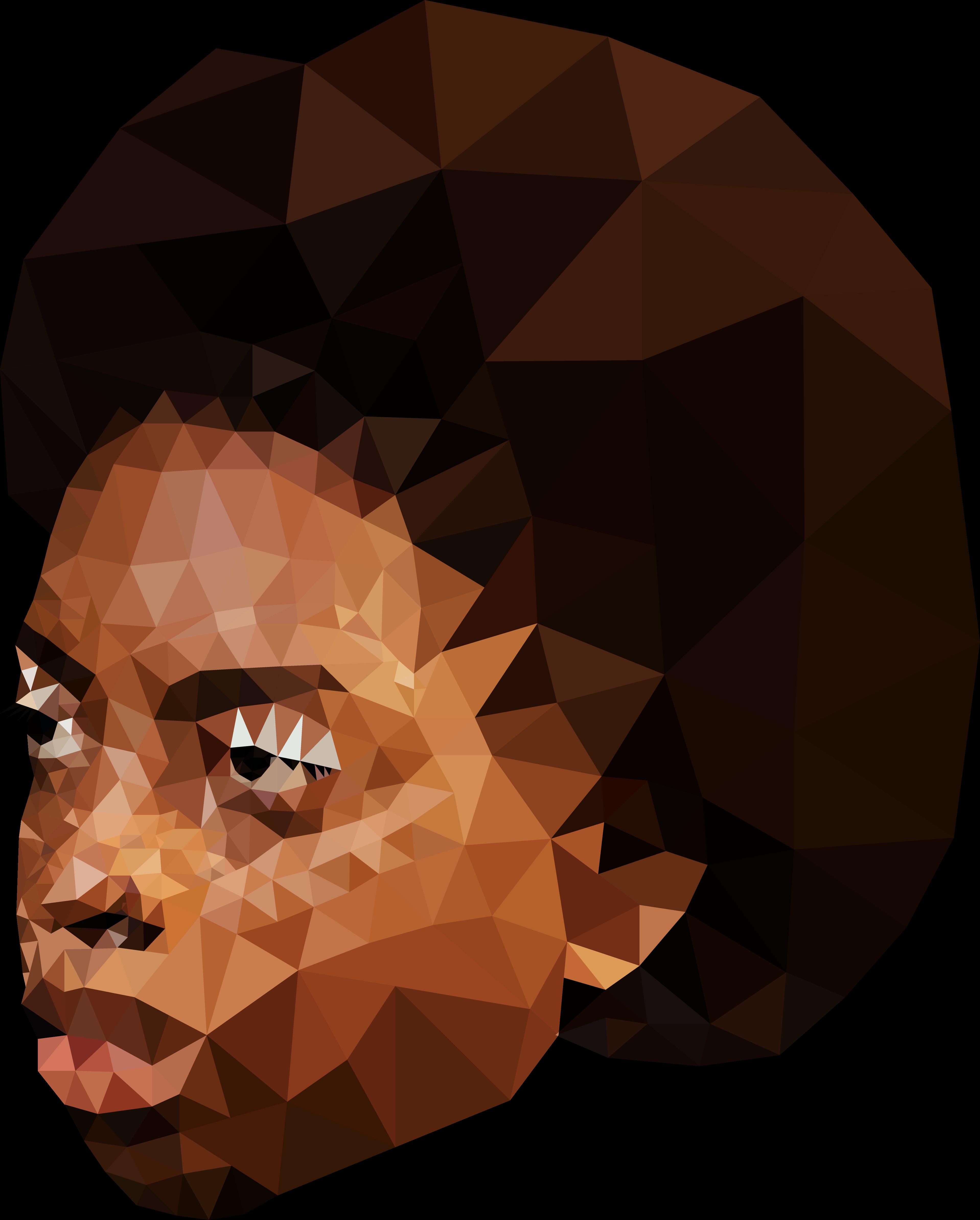 Shunaji illustration using low-poly art in Adobe Illustrator