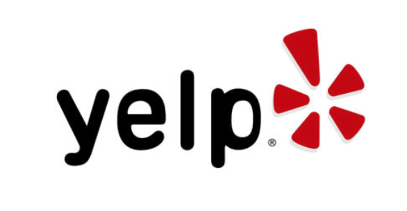 yelp logo with white background