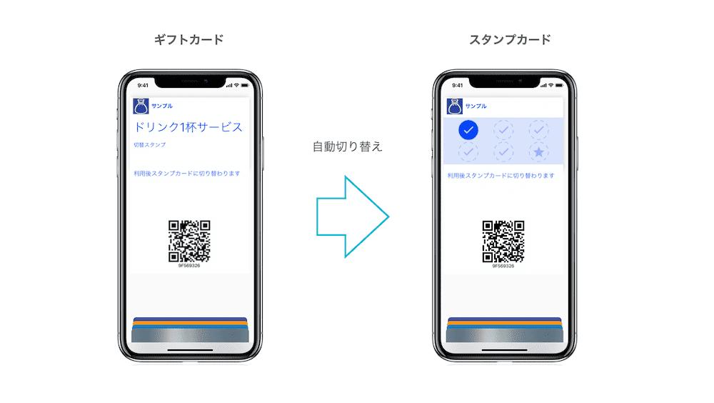 自動切り替えデジタルカード