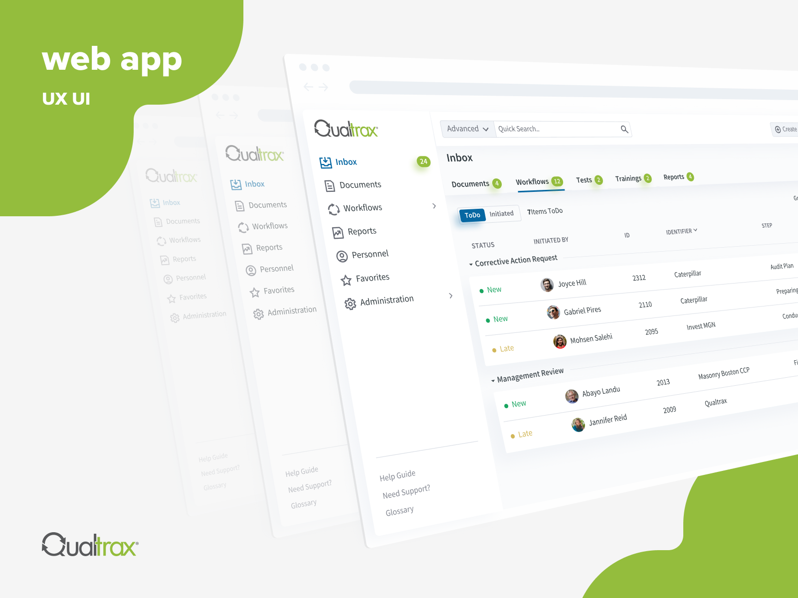 Compliance management platform - Qualtrax
