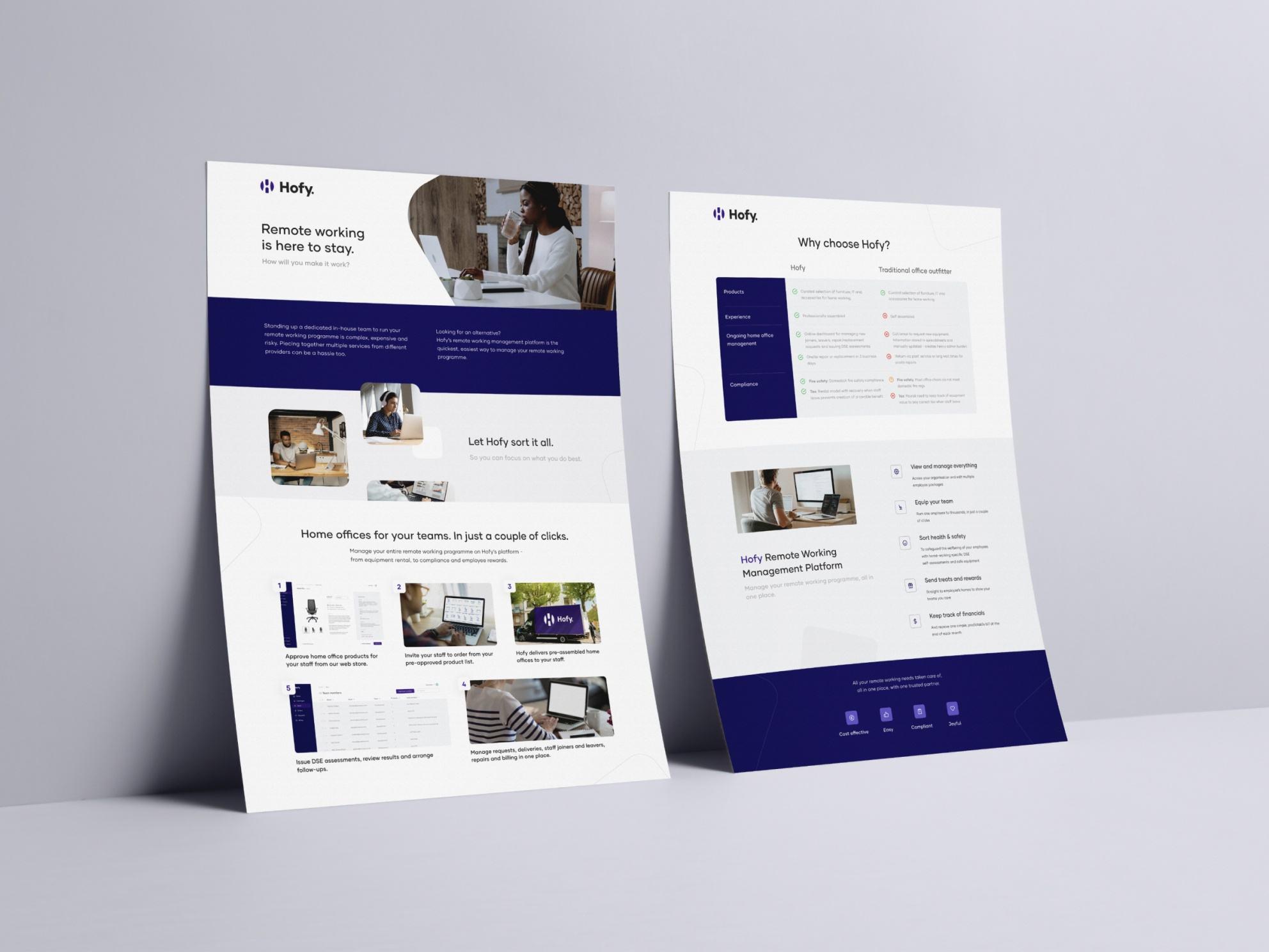 White paper design - Hofy