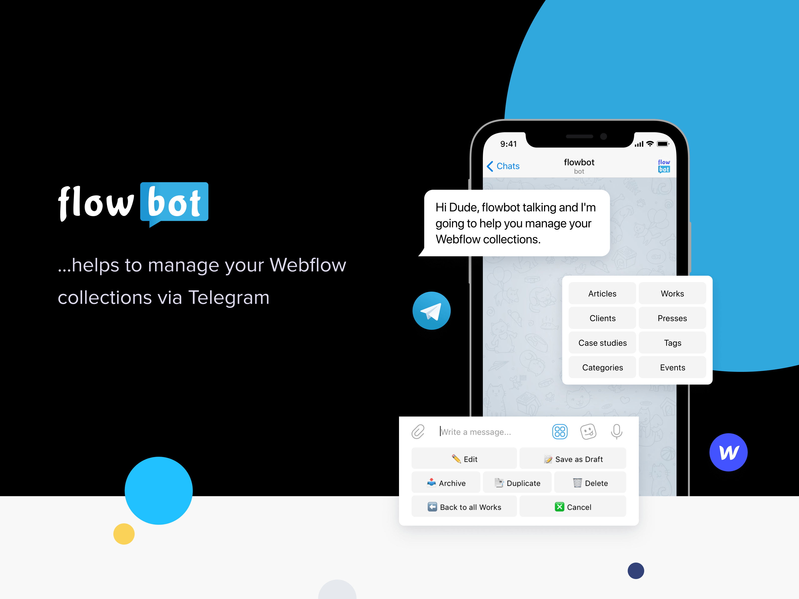 Telegram bot - Flowbot