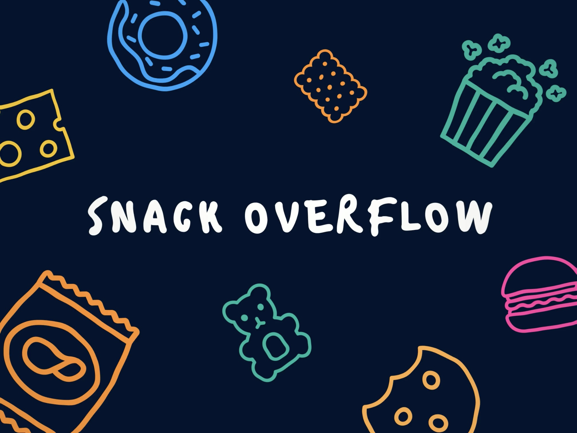 Podcasts Video Intro - Snack overflow