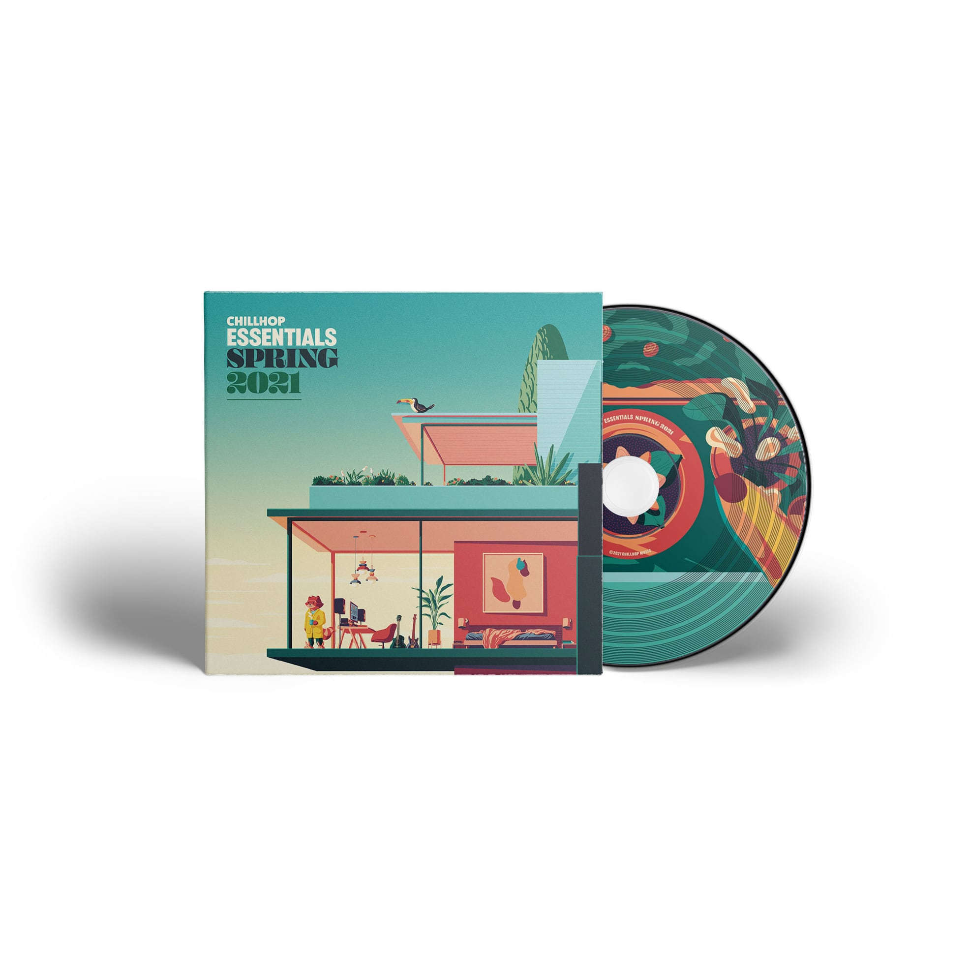 Chillhop Essentials Spring 2021 CD