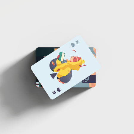 Chillhop Essentials Fall 2021 Playing cards