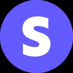logo stripe round png
