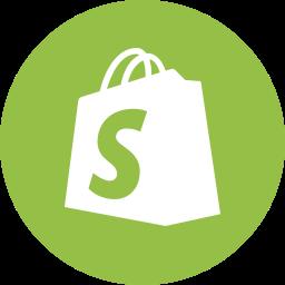 logo shopify round