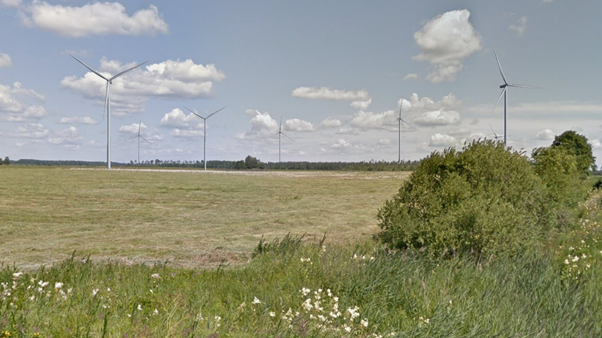 wind park visualization