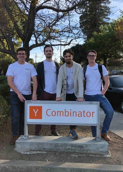 inspectAR team at Y combinator