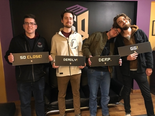 Escape Quest with the team